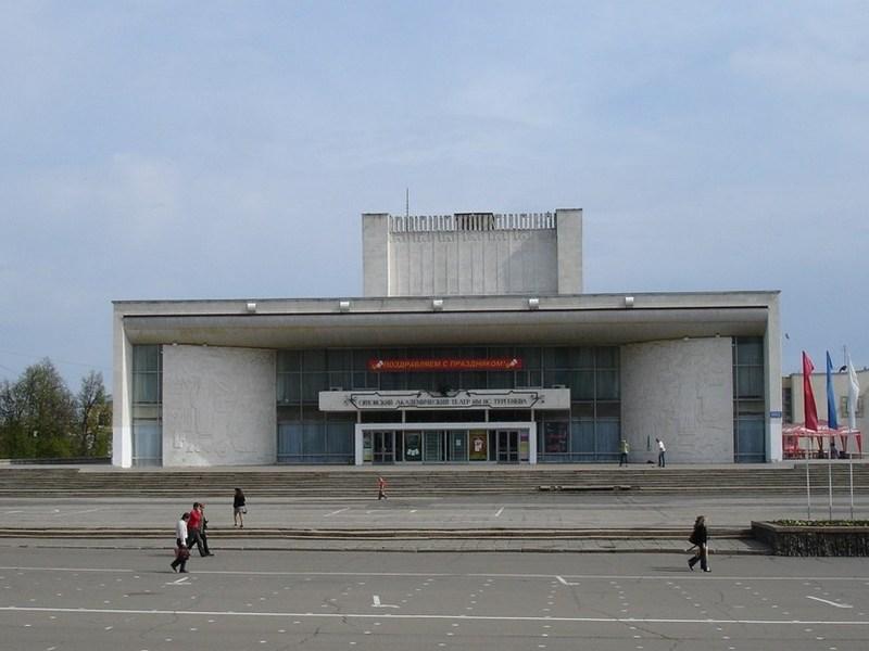 Реконструкция театра им.Тургенева вОрле может закончиться уголовным делом