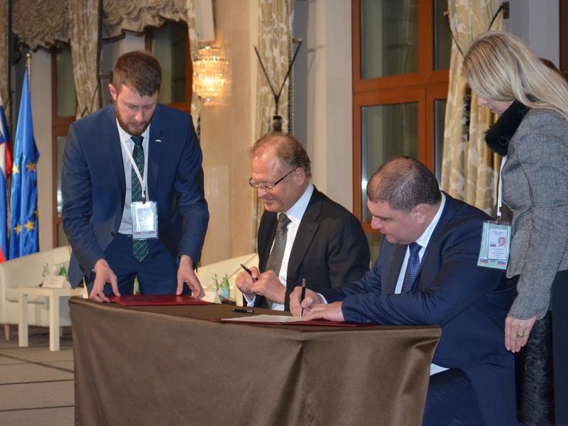 Орловщина заключила соглашение сословенцами на400млневро