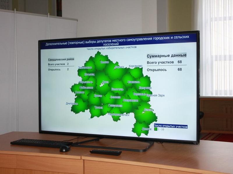 ВОрловской области квыборам готовят автобусы ирезервные участки
